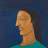 Profile of a Young Woman - F N Souza - Autumn Art Auction