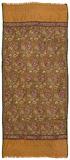 A HYDERABADI PASHMINA KANNI STOLE -    - Carpets, Rugs and Textiles Auction