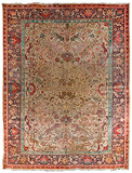 A VINTAGE CARPET- NORTH INDIA -    - Carpets, Rugs and Textiles Auction