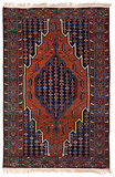 MAZLAGHAN CARPET - NORTH WEST PERSIA -    - Carpets, Rugs and Textiles Auction