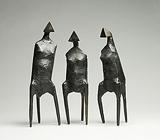 Three Standing Figures - Lynn  Chadwick - Impressionist and Modern Art Auction