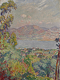 Vue sur le golfe de Saint Tropez (View of the Bay of Saint Tropez) - Henri  Lebasque - Impressionist and Modern Art Auction