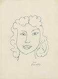 Tête de femme (Head of a Woman), from Poésies Antillaises - Henri  Matisse - Impressionist and Modern Art Auction