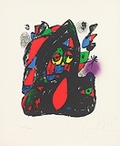 Lithograph IV, Plate A - Joan  Miró - Impressionist and Modern Art Auction