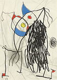 Passage de l'Egyptienne (Path of the Egyptian) - Joan  Miró - Impressionist and Modern Art Auction