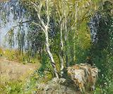 Le Berger (The Shepherd) - Pierre-Eugene  Montezin - Impressionist and Modern Art Auction