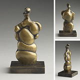 Three Quarter Woman - Henry  Moore - Impressionist and Modern Art Auction
