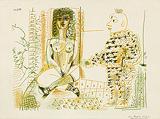 Le peintre et son modèle (The Painter and his Model) - Pablo  Picasso - Impressionist and Modern Art Auction