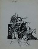 Untitled - Amitava  Das - Words & Lines II Auction