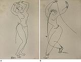 Untitled - K K Hebbar - Words & Lines II Auction