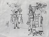 Untitled - Jyoti  Bhatt - Words & Lines II Auction