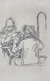 Untitled - Krishen  Khanna - Words & Lines II Auction