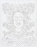 Untitled - G R Santosh - Words & Lines II Auction