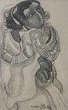 Untitled - Thota  Vaikuntam - Words & Lines II Auction