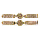 A PAIR OF PERIOD GEMSET BRACELETS -    - Auction of Fine Jewels & Watches