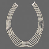 A DELICATE 'KESHI' PEARL NECKLACE -    - Auction of Fine Jewels & Watches