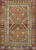 KHOTAN SAMARKAND CARPET - EAST TURKESTAN -    - 24-Hour Auction: Carpets and Rugs