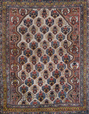 TRIBAL VERAMIN CARPET - SOUTH WEST IRAN -    - 24-Hour Auction: Carpets and Rugs