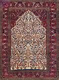ISFAHAN, TREE OF LIFE - CENTRAL PERSIA -    - 24-Hour Auction: Carpets and Rugs