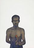 Red Taveez - Ali  Kazim - 24 Hour Auction: Art of Pakistan