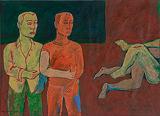 Voyeurs in the midst - Moeen  Faruki - 24 Hour Auction: Art of Pakistan