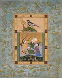 3 Figures (Gadrang) - Rehana  Mangi - 24 Hour Auction: Art of Pakistan