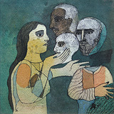 The Displaced Heads - Badri  Narayan - 24-Hour Auction: Small Format Art
