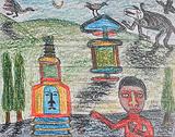 Leh - Madhvi  Parekh - 24-Hour Auction: Small Format Art