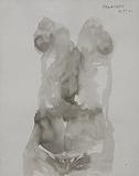 Untitled - Akbar  Padamsee - 24-Hour Auction: Small Format Art