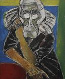 Self Portrait - Paritosh  Sen - 24-Hour Auction: Small Format Art