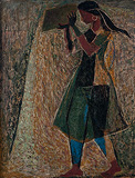 Untitled - K K Hebbar - Spring Art Auction