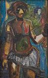 Untitled - M F Husain - Spring Art Auction