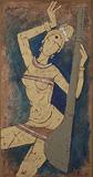 Untitled - M F Husain - Summer Art Auction 2012