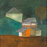 Houses - Badri  Narayan - Summer Art Auction 2012