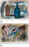 a) Two Bottles b) Untitled - Prabhakar  Barwe - Summer Art Auction 2012