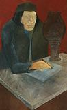 In Search of an Ancestor - Krishen  Khanna - Summer Art Auction 2012