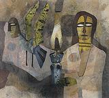 Untitled - Ganesh  Pyne - Summer Art Auction 2012