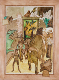 Untitled - K G Subramanyan - Summer Art Auction 2012