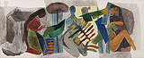 Untitled - M F Husain - Winter Online Auction: Modern Indian Art