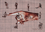 The Act of Touching - Prasanta  Sahu - Absolute Auction of Indian Art & Collectibles