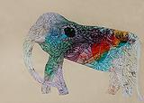 No.717- Elephant Series - Babu  Xavier - StoryLTD Absolute Auction