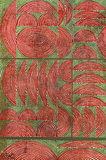 Untitled (Linear Composition in Red and Green) - Anwar Jalal Shemza - Autumn Art Auction