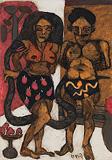 Untitled - K G Subramanyan - Autumn Art Auction