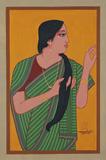 Untitled - Lalu Prasad Shaw - Autumn Art Auction