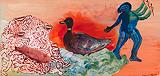The Duck - Nalini  Malani - Autumn Art Auction