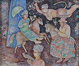 Untitled - Sakti  Burman - Autumn Art Auction
