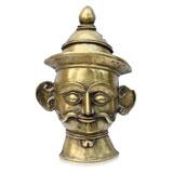 A 'Khandoba' Mask -    - Folk and Tribal Art Auction