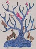 Jangarh Singh Shyam -    - Folk and Tribal Art Auction