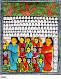 A 'Jadu Patua' Scroll -    - Folk and Tribal Art Auction