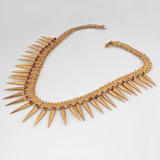 A 'Milligai Arumbumalai' Necklace -    - Folk and Tribal Art Auction